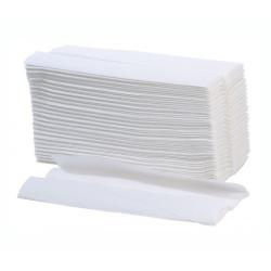 2ply Luxury White C-Fold Paper Hand Towels (Box of 3072)