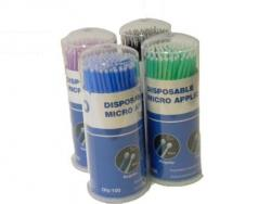Micro Applicator Brushes - Assorted Colours (Box of 400)