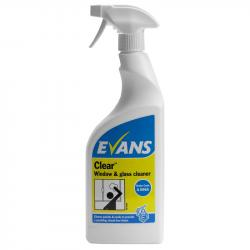 Clear Window & Glass Cleaner (750ml)
