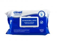 Clinell Antimicrobial Wipes  (Pack of 100)
