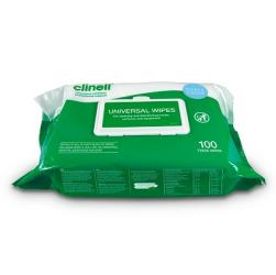 Clinell Universal Wipes (Pack of 100)