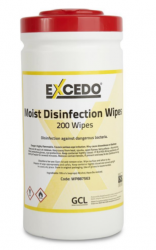 Excedo 70% Alcohol Wipes  (Tub of 200)