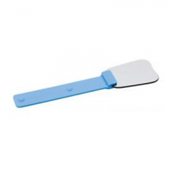 Intra-oral photography mirror silicone coated handle- Blue