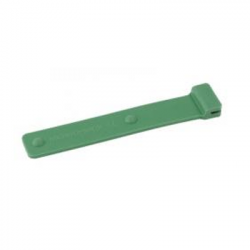 Intra-oral photography mirror silicone coated handle- Green