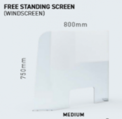 Sanique Free Standing Screen Medium - 980mm x 750mm