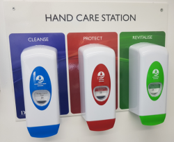 Trigiene Hand Care Station - Complete Set